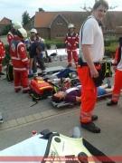 Verletztenablage
