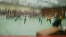 Eine der Choreografien